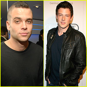 Cory Monteith & Mark Salling Have A Boys' Night Out with Rimowa