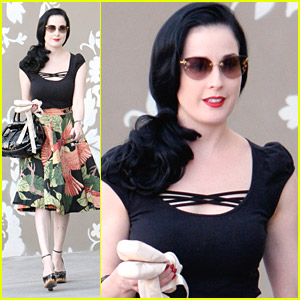 Dita Von Teese is a Pilates Pro