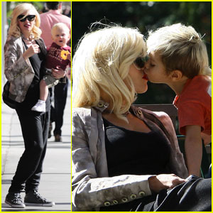 Gwen Stefani Gets A Kingston Kiss