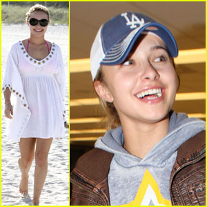 Hayden Panettiere is Beach Blissful