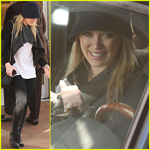 Hilary Duff is a Beverly Hills Hottie