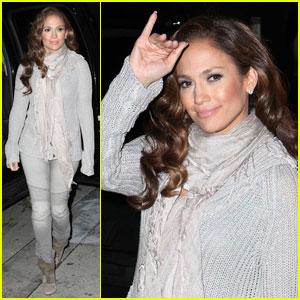 Jennifer Lopez Helps Haiti on Larry King