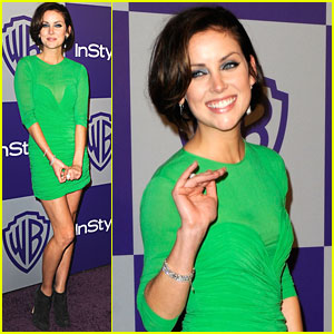 Jessica Stroup: Green After Golden Globes!
