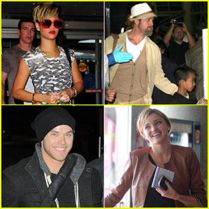 Celebs Who Fly in Style!