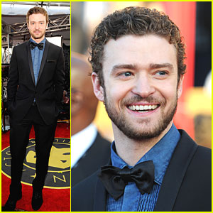 Justin Timberlake - SAG Awards 2010 Red Carpet