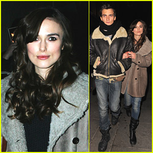 Keira Knightley: Dinner Date with Rupert Friend!