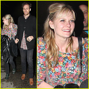 Kirsten Dunst: Chateau Marmont with Jason Boesel!