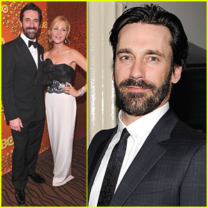 Mad Men Wins Top Honors, Jon Hamm Still Bearded