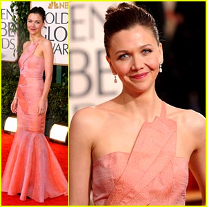 Maggie Gyllenhaal - Golden Globes 2010 Red Carpet