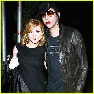 Marilyn Manson & Evan Rachel Wood: Engaged?