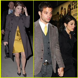Marisa Tomei & Logan Marshall-Green: Golden Globes Party Pair