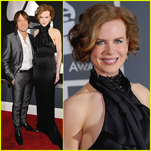 Nicole Kidman - Grammys 2010 Red Carpet with Keith Urban!