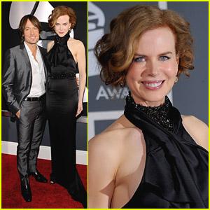 Nicole Kidman - Grammys 2010 Red Carpet with Keith Urban!
