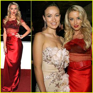 Olivia Wilde & Amber Heard: Elysium Babes