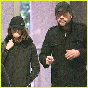 Penelope Cruz & Javier Bardem: Movie in Madrid!