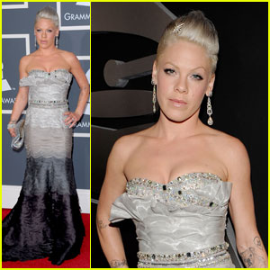 Pink - Grammys 2010 Red Carpet
