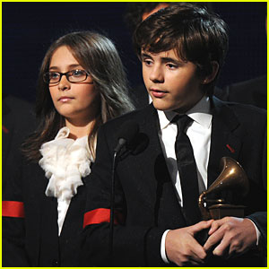 Michael Jackson's Kids Accept Lifetime Achievement Grammy
