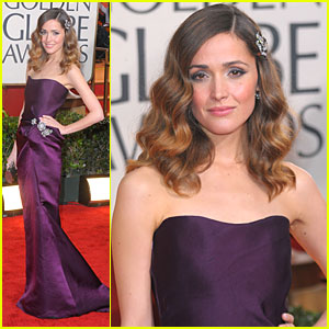Rose Byrne - Golden Globes 2010 Red Carpet