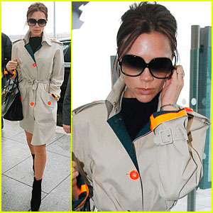 Victoria Beckham: The Family That Skypes Together...