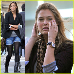 Bar Refaeli is a Windy Woman
