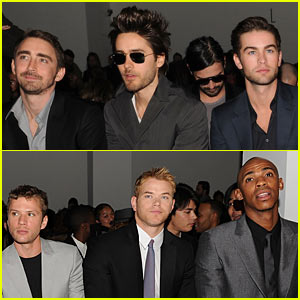 Calvin Klein: All-Star Front Row at NY Fashion Week!