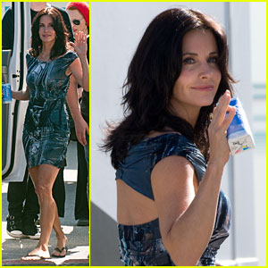 Courteney Cox: Zico Zesty!