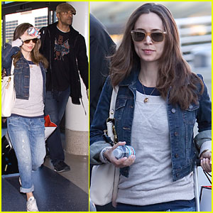 Eliza Dushku & Rick Fox Take Flight