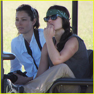 Jessica Biel: Safari in South Africa!