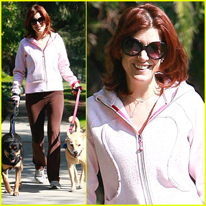 Kate Walsh Dotes On Her Dogs