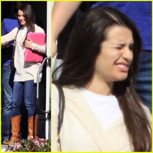 Lea Michele: Glee Glare
