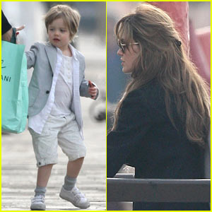 Angelina Jolie: Private Playground Family Fun