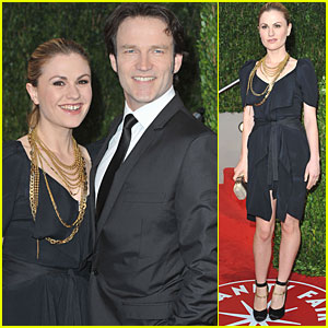Anna Paquin: Vanity Fair After Party with Stephen Moyer!