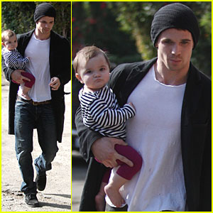 Cam Gigandet is a Doting Dad