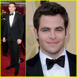 Chris Pine -- Oscars 2010 Red Carpet