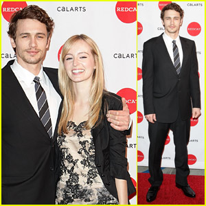 James Franco & Ahna O'Reilly Rev Up For Redcat
