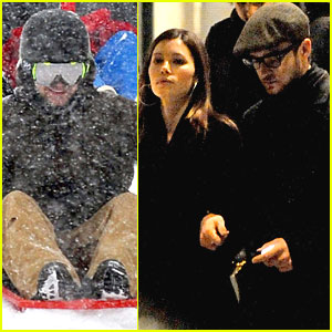 Justin Timberlake & Jessica Biel: Sweethearts in Switzerland