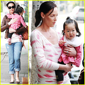 Katherine Heigl: Out to Lunch with Naleigh!