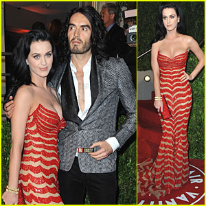 Katy Perry: Vanity Fair After Party with Russell Brand!