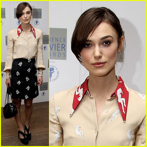 Keira Knightley is Laurence Luncheon Lovely