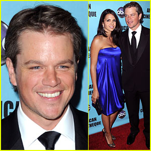 Matt Damon: American Cinematheque Award!