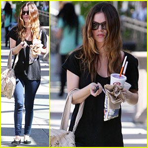 Rachel Bilson: Jamba Juice for Two