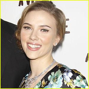 Scarlett Johansson Supports Healthy School Meals