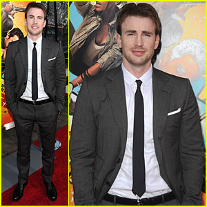 Chris Evans Brings 'The Losers' to L.A.