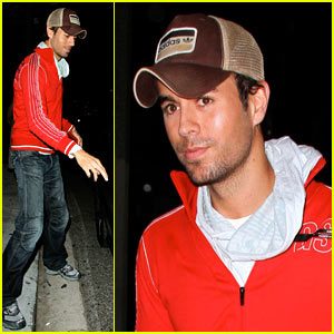 Enrique Iglesias at Koi: I LIKE IT!
