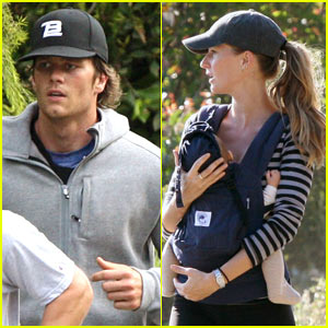 Gisele Bundchen: Hiking with the Brady Bunch