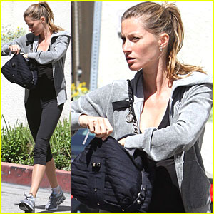 Gisele Bundchen is a Workout Woman