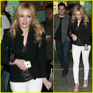 Hilary Duff Hates Bell Peppers -- With A Passion!
