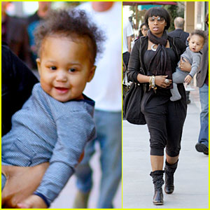 Jennifer Hudson's Son is One Happy Baby