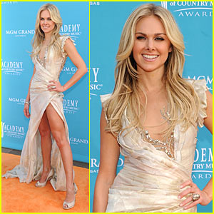 Laura Bell Bundy - ACM Awards 2010 Red Carpet