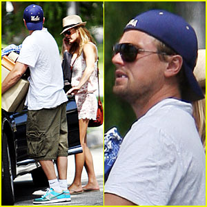 Leo DiCaprio: Boxes 'n' Bar Refaeli